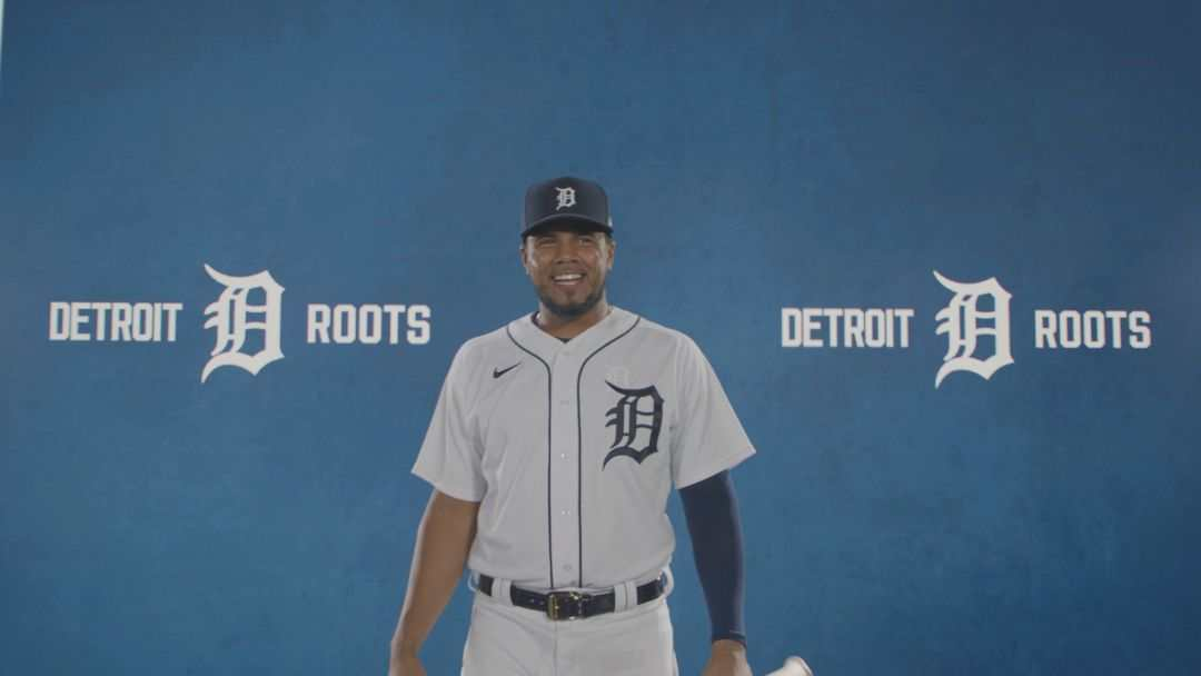 Detroit Tigers third baseman Jeimer Candelario.