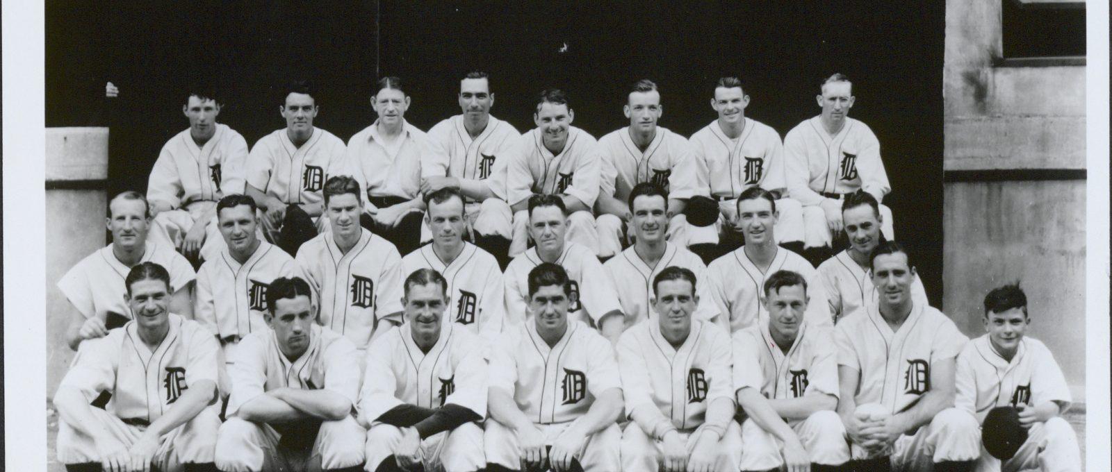 Old photo of baseball team