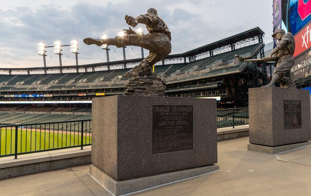 Charlie Gehringer Statue